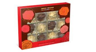 Caixa de rosas Chocolate