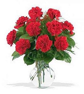 Bouquet de Cravos Vermelhos
