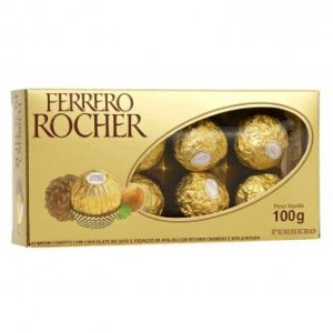 Ferrero Rocher com 8 unidades