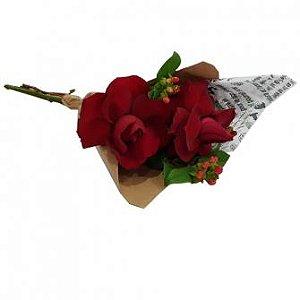 Rosas Colombianas no Papel Craft