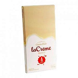 Tablete La Creme branco 100g