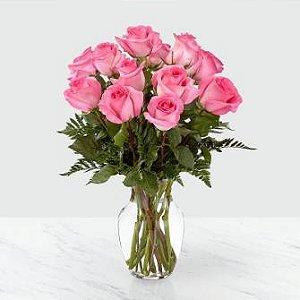 Jarra Rosa rosa