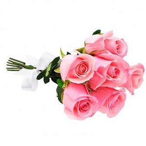 Meia duzia rosa rosa