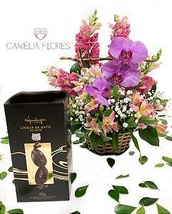Orquídea Imperial com Ovo kopenhagen