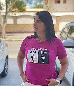 Camiseta Babylook Vinho