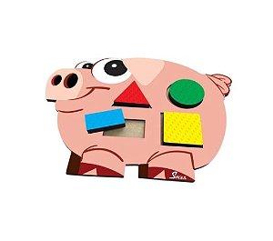 Porquinho Geométrico