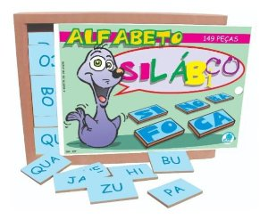 Alfabeto Silábico 149pçs