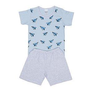 Pijama Infantil Menino Azul - Junkes Baby