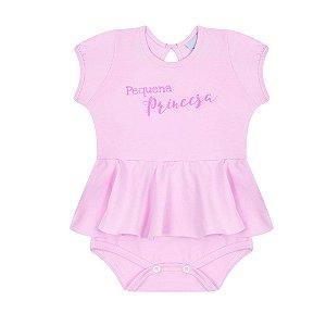 Body Bebê Menina Rosa - Junkes Baby