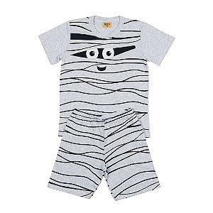 Pijama Infantil Menino  Monster Mescla - Rolú