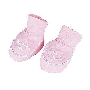 Sapatinho Menina Bebê Rosa - Fantoni