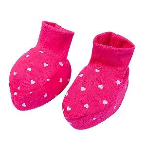 Sapatinho Menina Bebê Pink - Fantoni