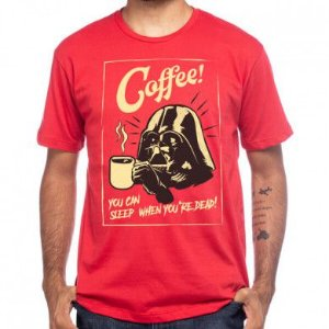 Camiseta Darth Coffee