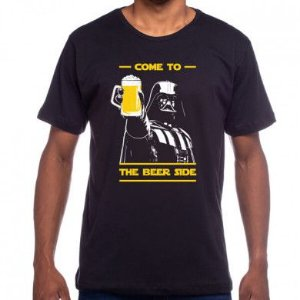 Camiseta Come to the beer side