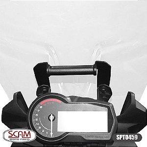 SUPORTE GPS BMW F750GS 2018+SCAM