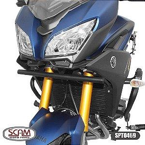 SUPORTE FAROL AUXILIAR YAMAHA MT09 TRACER 900 2015+ SCAM