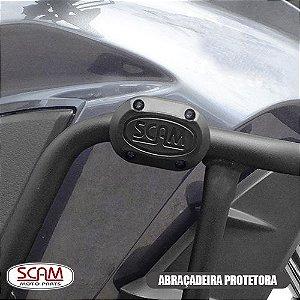 PROTETOR DE MOTOR E CARENAGEM C/ PEDAIS MT09 TRACER 900 GT 2020+ SCAM