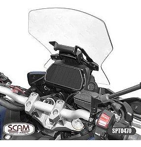 SUPORTE GPS YAMAHA MT09 TRACER GT 2020+ SCAM