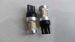 Descrição: Lâmpada Led TBR T20 6000k Canbus Branco - Par