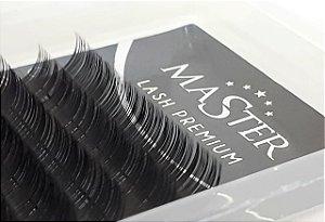 CILIOS MASTER SILK LASH - 0.12 C - TAM. 11/12/13/14 (com 16 Linhas)