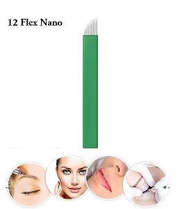 LAMINA TEBORI 12 FLEX NANO MICROBLANDING C/ 10 UNID