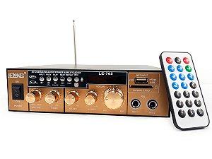 Mini Modulo Amplificador Para Caixa De Som Karaoke Bluetooth MP3 USB Cartão SD 110V 60Hz