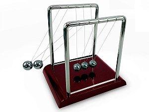 Pêndulo De Mesa Newton Balance Balls Grande Decorativo Para Mesa Sala Escritório Luxo