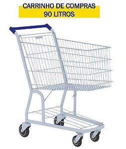 CARRINHO DE COMPRAS 90 LITROS