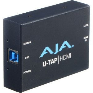 AJA U-TAP USB 3.0/3.1 Gen 1 Powered HDMI