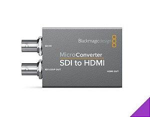 MICRO CONVERSOR BLACKMAGIC SDI PARA HDMI