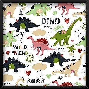 Quadro Dinossauro Friend