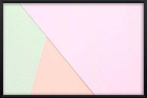 Quadro Geométric Pastel