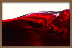 Quadro Mar de Vinho