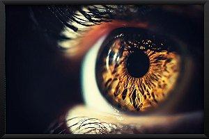 Quadro Olho Castanho