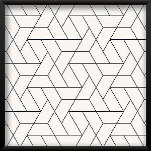 Quadro Triângulos Monocromática