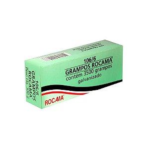 Grampo Galvanizado106/6 300g 3.500pçs Rocama