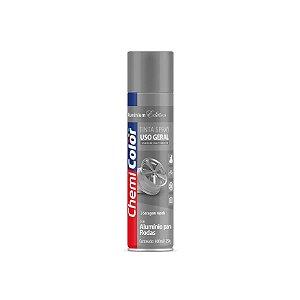 Tinta Spray Alumínio Para Rodas 400ml Chemicolor