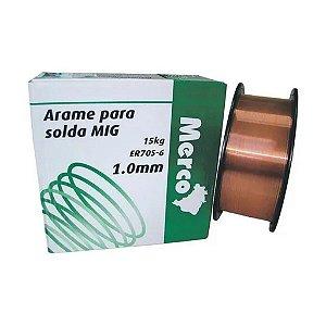 Arame Solda Mig 1.0mm 15kg Merco Nobre