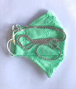 Máscara Verde Corrente Baiana RB