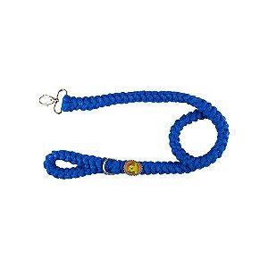 Guia  de fio de malha azul royal