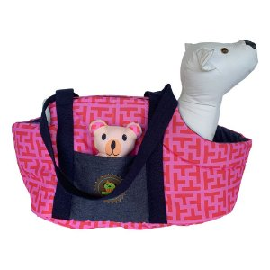 Bolsa passeio estampa  Tutti pink