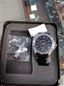 Relógio Masculino Dumont - Kit - DU2035MNS-K3K