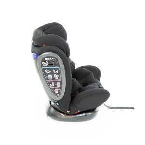 Cadeirinha para Auto Vita Preto Fuzz  Infantil 0 - 36kg