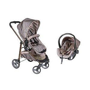 Carrinho De Bebê Olympus Protege + Bebê Conforto Cocoon Antiviral