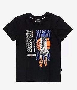 T-Shirt de Malha Foguete - YOUCCI