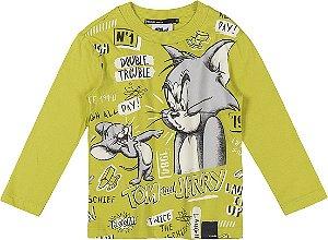 Camiseta Manga Longa Tom and Jerry - YOUCCIE