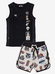 Conjunto Regata e Shorts - YOUCCIE