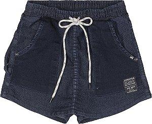 Shorts Saia Mistura Jeans - IAM AUTHORIA