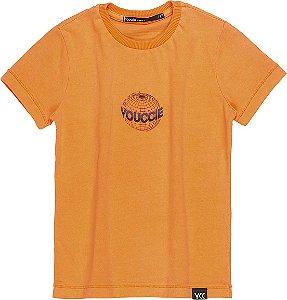 T-Shirt Laranja Neon - YOUCCIE