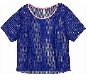 Blusa de Tela Azul Royal - IAM AUTHORIA